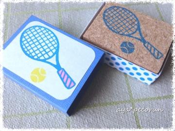 テニスラケット&ボールのはんこ 専用ケース