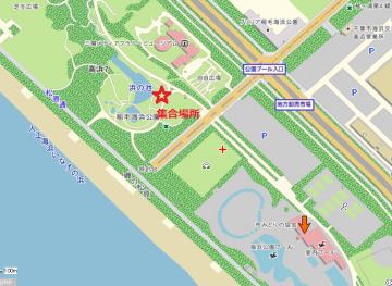 浜の池 地図