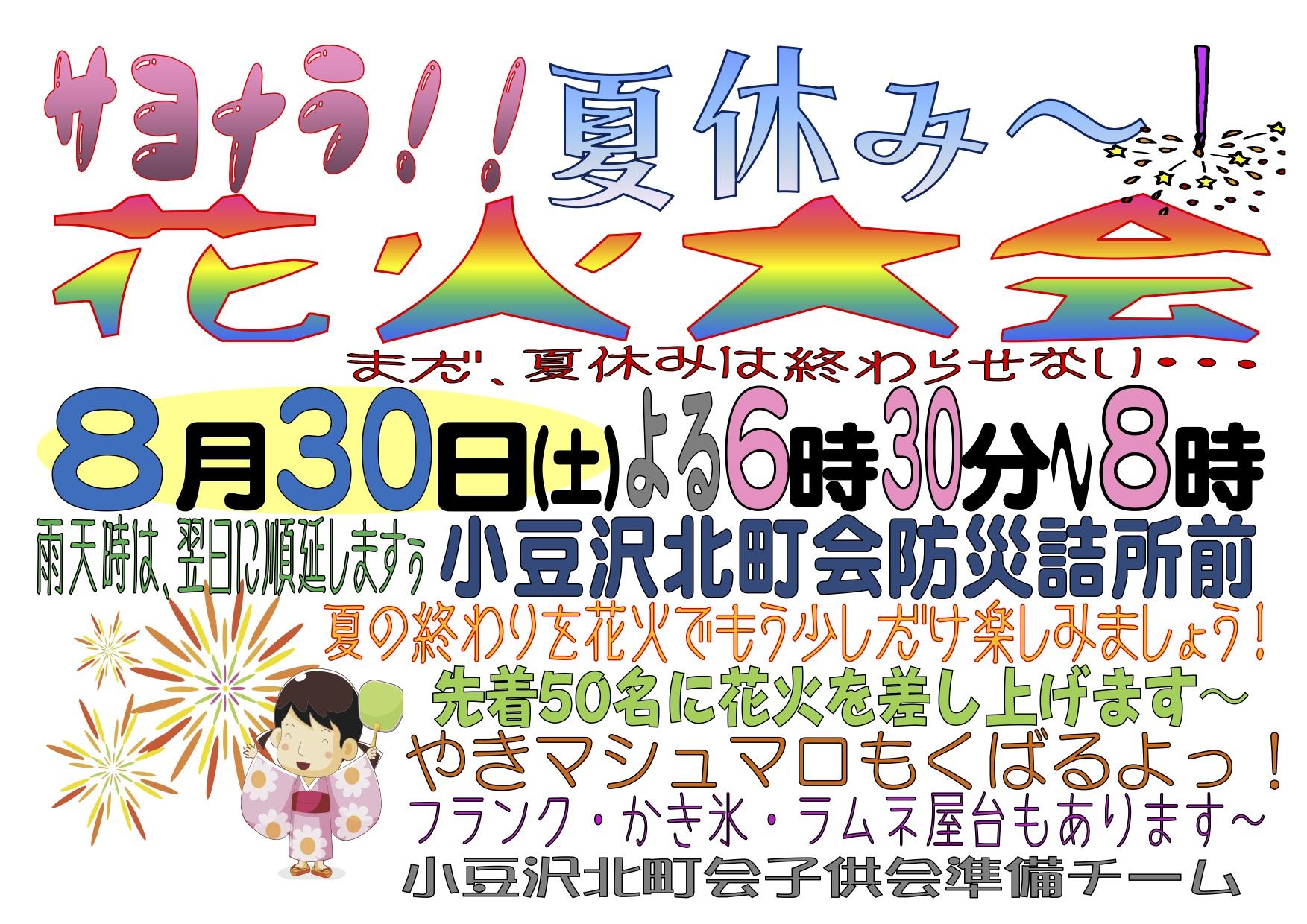 2014年8月30日花火大会