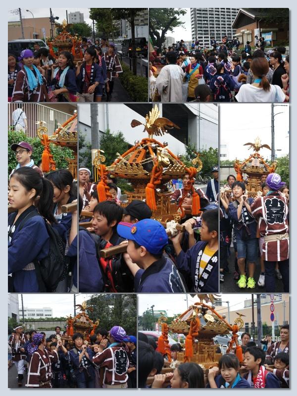 2014年9月7日子供神輿渡御