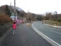 141221穂谷へ、京阪奈墓地公園から先は下り