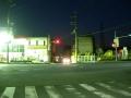 141206東中野交差点で163を渡る。