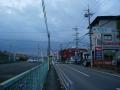 141213奈良県道188を護国神社に左折。鉢伏峠へ。