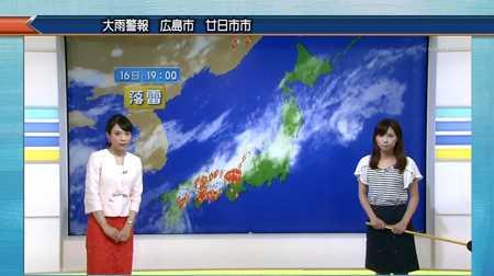 守本奈実 寺川奈津美 NHKニュース7_20140816-214410