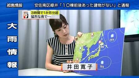 井田寛子 ニュースウオッチ9_20140821-044420