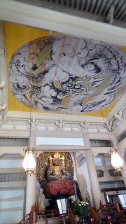 円覚寺本堂天井