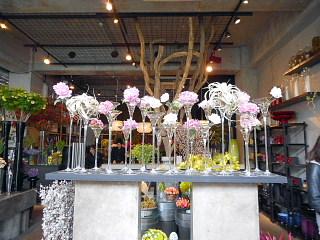 店内の花3