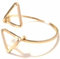 R603 triangle gold filled ring (3)