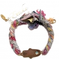 b812 vintage ribbon braided bracelet multi rainbow