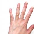 R601 Leaf gold filled ring (1)