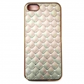 iPhone 5_5S Champagne Quilt Bling Case (1)