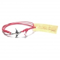 silver swallow friendship bracelet red (3)