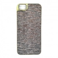 iPhone 55S Gold Glitter Case (1)