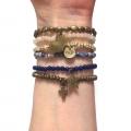 Brand New W813 Bronze Crystal set blue (2)