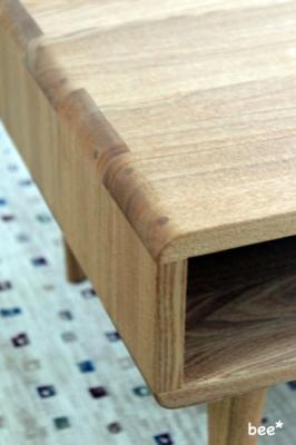 カフェテーブル角の処理