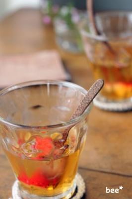 おも茶の苺水