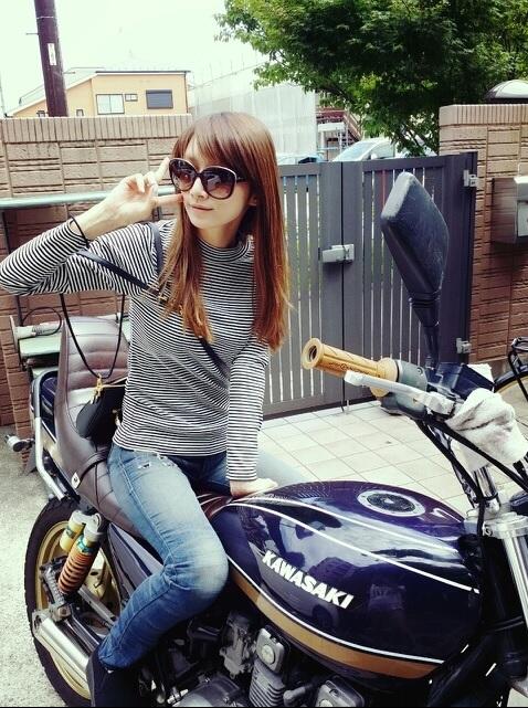 バイクに乗っている女性芸能人 | バイク女子の生活