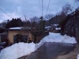 雪道の始まり