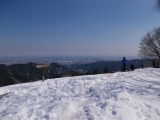景信山を通過