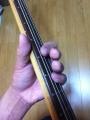ネック・シバキの1-3弦ミュート