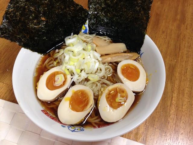 味玉醤油ラーメン (コピー)