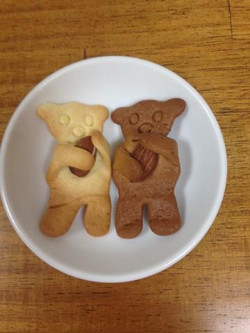 ベアーモンドクッキー (2) (コピー)