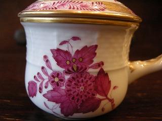 ヘレンド タートルスープカップ 011
