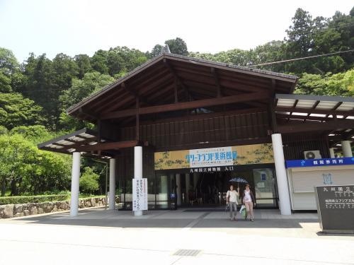 九州国立博物館入り口