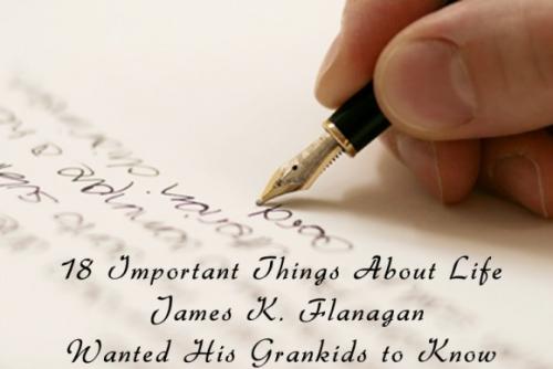 祖父から孫たちへのラストレター0