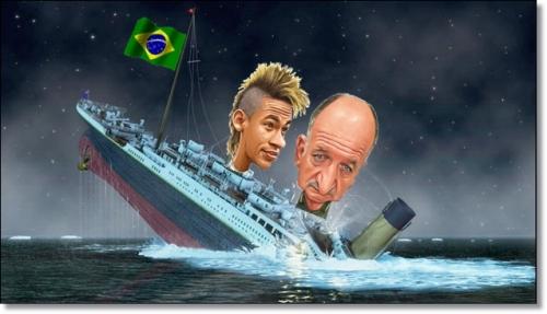 ブラジル沈没