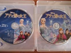 2014年7月アナ雪ブルーレイ&DVD