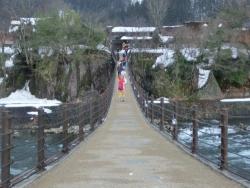 白川郷 であい橋