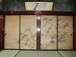 国重文 和田家 1階和室の襖