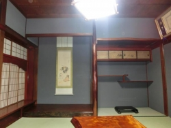 国重文 和田家 1階和室の床の間