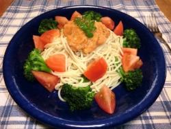 特製野菜ソースの冷製パスタ