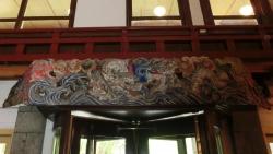 本館入口内部の装飾