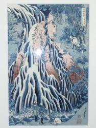 葛飾北斎:霧降の滝