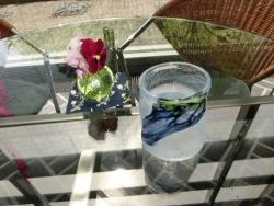日光吹きガラス
