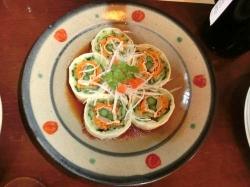 湯波と干瓢のサラダ