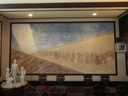 自由学園 明日館 ホールの壁画