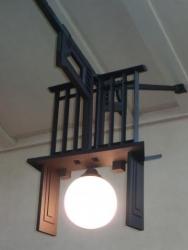 自由学園 明日館 食堂の照明