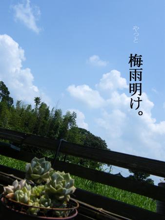 梅雨明け2014