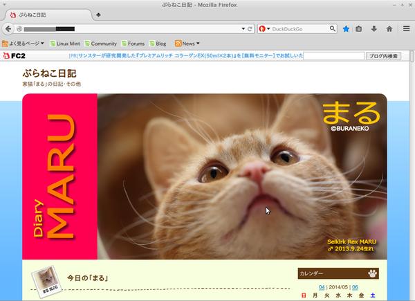Screenshot-ぶらねこ日記 - Mozilla Firefox