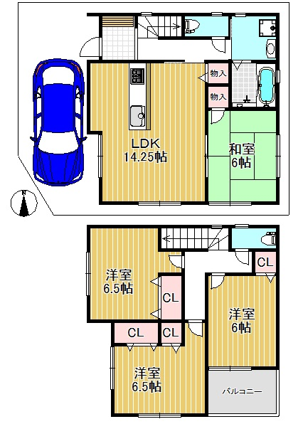 ファースト住建 【2号地】生野区田島6 ¥2880万