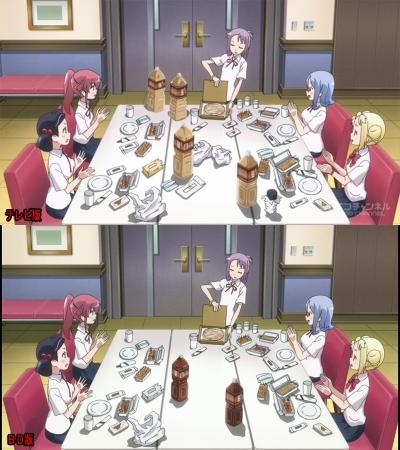 テーブルの変更