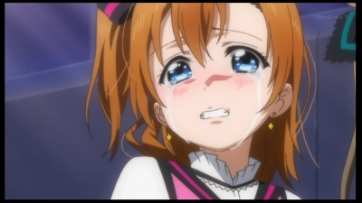 穂乃果の涙