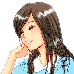 自画像(髪型)2