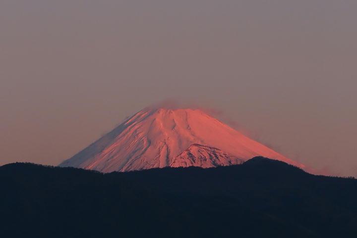 12月5 6-35 今朝の富士山-1