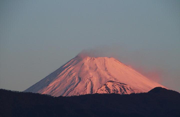 12月7 6-43 今朝の富士山-1