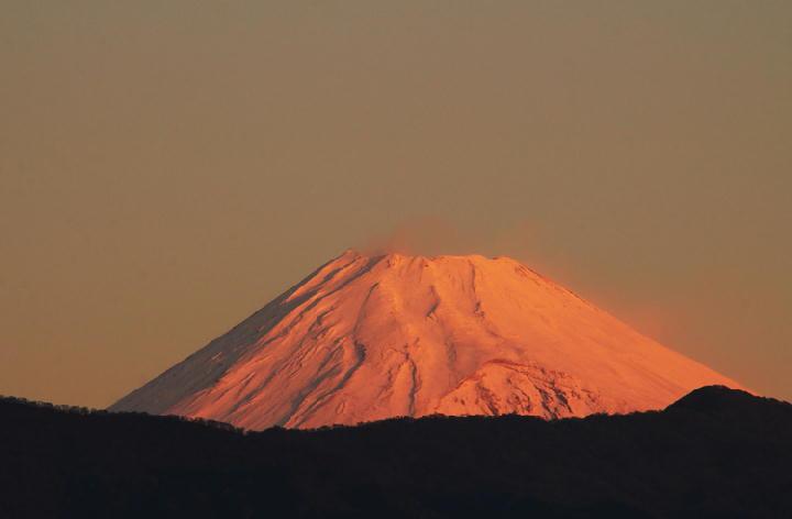 12月13 6-44 今朝の富士山-1